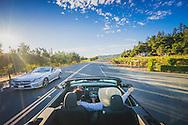 Driving the Silverado Trail, Napa Valley, California