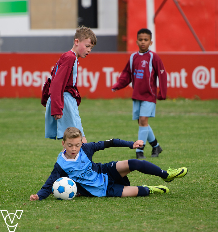 Lincoln City Sport and Education Trust Primary School football tournament held at Sincil Bank Stadium, Lincoln.<br /> <br /> Picture: Chris Vaughan Photography<br /> Date: May 12, 2017