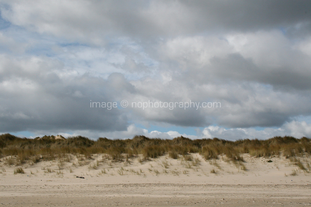 Curracloe Beach in Wexford Ireland where the opening scenes of Spielberg's film Saving Private Ryan was filmed