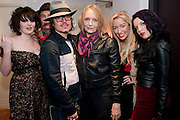 ROBERT PERENO; DAISY TALLULAH; ADAM ANT; JENNY RUNACRE; TWINKLE ; GEORGINA BAILEY; , Showing of Jubilee. Society film club, Sanctum Soho Hotel. celebrating Robert PerenoÕs birthday and the official launch of The Society Film Club on the Rooftop bar of the Sanctum. -DO NOT ARCHIVE-© Copyright Photograph by Dafydd Jones. 248 Clapham Rd. London SW9 0PZ. Tel 0207 820 0771. www.dafjones.com.<br /> ROBERT PERENO; DAISY TALLULAH; ADAM ANT; JENNY RUNACRE; TWINKLE ; GEORGINA BAILEY; , Showing of Jubilee. Society film club, Sanctum Soho Hotel. celebrating Robert Pereno's birthday and the official launch of The Society Film Club on the Rooftop bar of the Sanctum. -DO NOT ARCHIVE-© Copyright Photograph by Dafydd Jones. 248 Clapham Rd. London SW9 0PZ. Tel 0207 820 0771. www.dafjones.com.