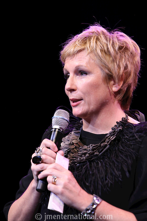 Jennifer Saunders, the 2011 MITs Award. Held at the Grosvenor Hotel London in aid of Nordoff Robbins and the BRIT School. Monday, Nov.7, 2011
