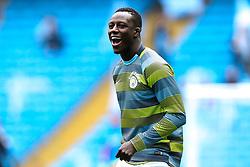 Benjamin Mendy of Manchester City - Mandatory by-line: Robbie Stephenson/JMP - 19/08/2018 - FOOTBALL - Etihad Stadium - Manchester, England - Manchester City v Huddersfield Town - Premier League