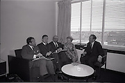 26/06/1965<br /> 06/26/1965<br /> 26 June 1965<br /> ESOMAR conference planning committee meeting in the Intercontinental Hotel, Dublin.