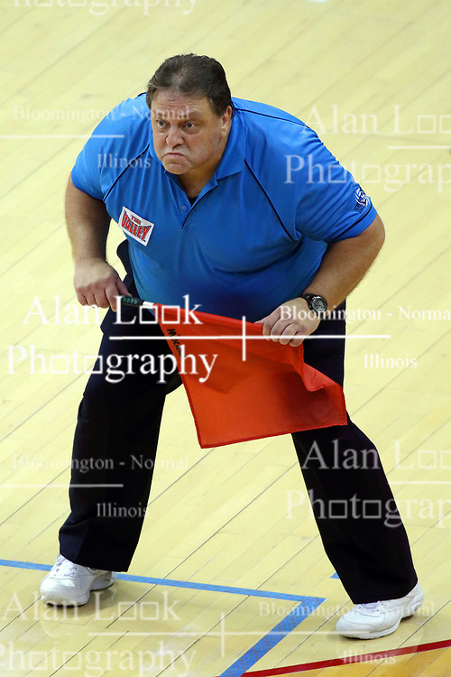 07 October 2017:  Bob Poyer during a college women's volleyball match between the Crusaders of Valparaiso and the Illinois State Redbirds at Redbird Arena in Normal IL (Photo by Alan Look)