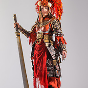 Costumier Hayley Douglas, Khutulun. Costume Showcase 2014.
