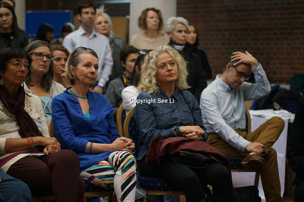 London, UK, 13th September 2017. Mass lobby statements of support from a cross-party group of MPs , Hosts by British in Europe and the3million and partners talk about the campaign and the importance of guaranteeing citizens' rights. at Emmanuel Centre.