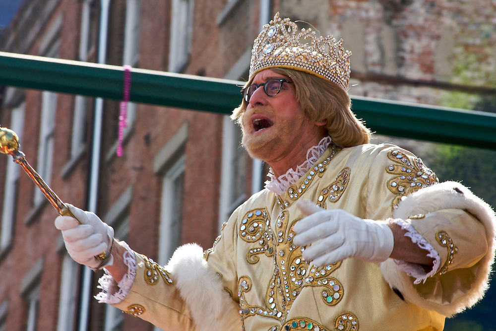 Rex, King Of Carnival, Mardi Gras 2012, New Orleans, LA