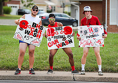 07/28/18 BHS Football Car Wash