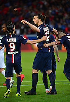 Zlatan IBRAHIMOVIC - 08.05.2015 -  PSG / Guingamp - 36eme journee de Ligue 1<br />