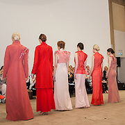 13.05.2016.           <br /> Models showcase designs by Niamh Maher titled 'Desire Unbound' at the much anticipated Limerick School of Art & Design, LIT, (LSAD) Graduate Fashion Show on Thursday 12th May 2016. The show took place at the LSAD Gallery where 27 graduates from the largest fashion degree programme in Ireland showcased their creations. Ranked among the world's top 50 fashion colleges, Limerick School of Art and Design is continuing to mold future Irish designers.. Picture: Alan Place/Fusionshooters