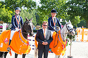 Liza Roovers - Dylano, Britt Wevers - Top Dominique<br /> Hippiade 2016<br /> © DigiShots