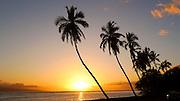 Sunset, Front Street, Lahaina, Maui, Hawaii