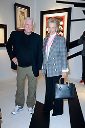 Private View of the Pavilion of Art & Design London 2010 held in Berkeley Square, London on 11th October 2010.<br /> Picture Shows:- HRH PRINCESS MICHAEL OF KENT and DR FRIEDRICH-CHRISTIAN FLICK.