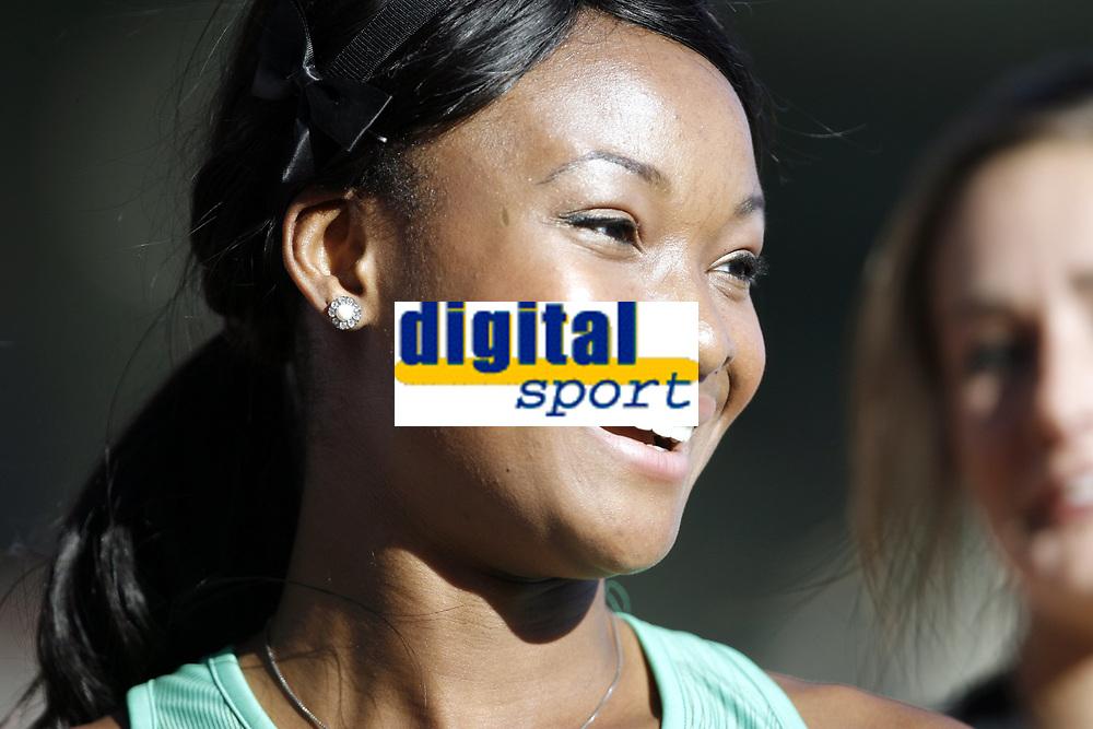 Friidrett, 4. juni 2010,  Diamond League , Bislett Games Oslo<br /> <br /> <br /> Ezinne Okparaebo , satte norsk rekord på 100 meter