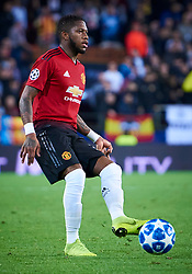 December 12, 2018 - Valencia, U.S. - VALENCIA, SPAIN - DECEMBER 12: Fred Rodrigues de Paula Santos, midfielder of Manchester United with the ball during the UEFA Champions League group stage H football match between Valencia CF and Manchester United FC at Mestalla stadium on December 12, 2018, in Valencia, Spain. (Photo by Carlos Sanchez Martinez/Icon Sportswire) (Credit Image: © Carlos Sanchez Martinez/Icon SMI via ZUMA Press)