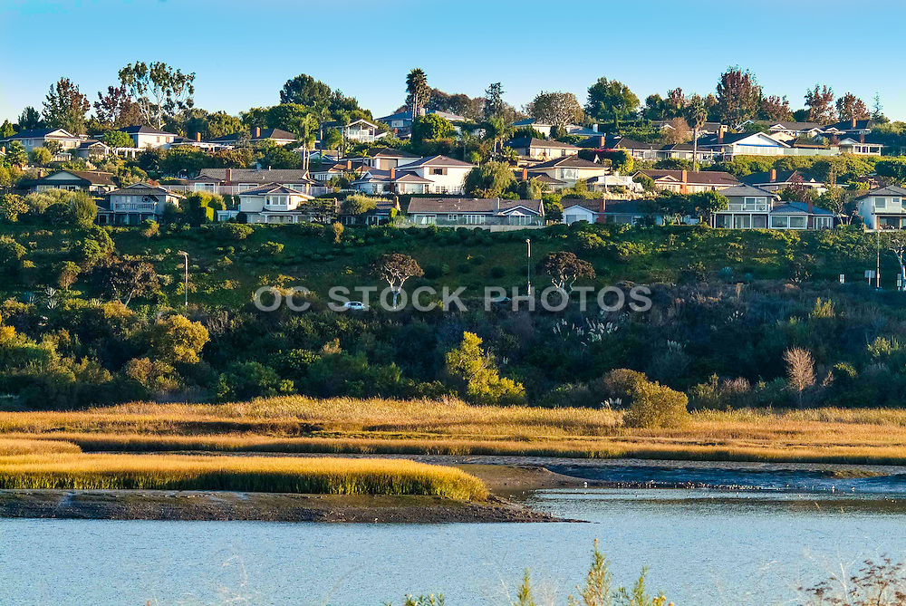 Upper Newport Bay in Newport Beach California
