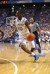 UK guard Doron Lamb makes a move toward the basket in the first half. UK hosted Ole Miss Saturday, Feb. 18, 2012 at Rupp Arena in Lexington . Photo by