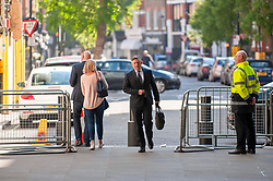 Leicester South's Labour MP and shadow Health & Social Care Secretary, Jonathan Ashworth arriving at the BBC in London before appearing on the Andrew Marr show. <br /> <br /> Richard Hancox   EEm 12052019