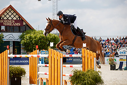 EPAILLARD Julien (FRA), Quedge Deenne<br /> Hagen - Horses and Dreams meets the Royal Kingdom of Jordan 2018<br /> Preis der LVM Versicherung Qualifikation zur DKB-Riders Tour<br /> 28. April 2018<br /> www.sportfotos-lafrentz.de/Stefan Lafrentz