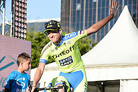 Rogers Michael - tinkoff - 19.01.2015 - presentation des equipes du Tour Down Under -<br /> Photo : Sirotti / Icon Sport