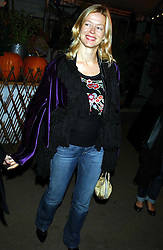 LADY HELEN TAYLOR at an exclusive evening featuring the greatest talents in fashion today in aid of the African children who have been affected bt the AIDS epidemic held at the Chelsea Gardener, Sydney Street, London on 20th September 2004<br />