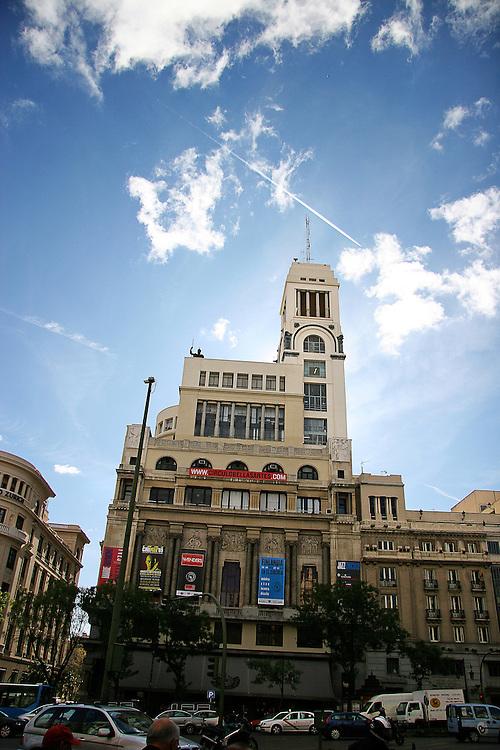 The Cine Estudio Círculo de Bellas Artes in Madrid, Spain