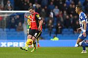 Birmingham City midfielder Stephen Gleeson (8) during the Sky Bet Championship match between Brighton and Hove Albion and Birmingham City at the American Express Community Stadium, Brighton and Hove, England on 28 November 2015. Photo by Phil Duncan.