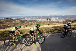 ČOTAR Luka (SLO) of KK Kranj, LOGAR Tadej (SLO) of KK Kranj, JENKO Robert (SLO) of MebloJOGI kult Solkan during the UCI Class 1.2 professional race 4th Grand Prix Izola, on February 26, 2017 in Izola / Isola, Slovenia. Photo by Vid Ponikvar / Sportida