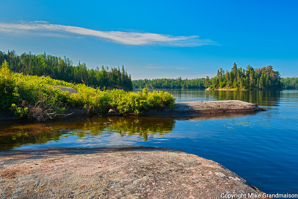 Blindfold Lake<br />Kenora DIstrict<br />Ontario<br />Canada