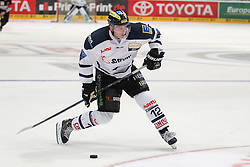 19.10.2014, LANXESS Arena, Köln, GER, DEL, Kölner Haie vs ERC Ingolstadt, 12. Runde, im Bild Martin Davidek (ERC Ingolstadt), Koelner Haie - ERC Ingolstadt am 19.10.2014 in der Lanxess-Arena in Koeln (Nordrhein-Westfalen). // during Germans DEL Icehockey League 12 th round match between Cologne Haie and ERC Ingolstadt at the LANXESS Arena in Köln, Germany on 2014/10/19. EXPA Pictures © 2014, PhotoCredit: EXPA/ Eibner-Pressefoto/ Kohring_Fuss<br /> <br /> *****ATTENTION - OUT of GER*****