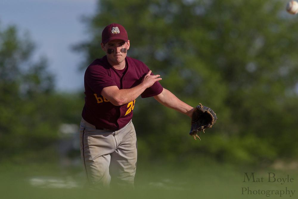 Glassboro High School baseball hosts Schalick High School on Thursday May 10, 2012 in Glassboro, NJ. (photo / Mat Boyle)