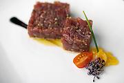 Tuna Tartare at Viento Sur bar and restaurant