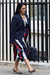 Downing Street, London, June 16th 2015. Priti Patel, Minister of State for Employment arrives at 10 Downing Street for the weekly cabinet meeting.