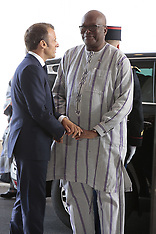 G7 - Macron welcomes African leaders - 25 Aug 2019