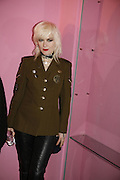 Pam Hogg. i-Dentity opening. Celebrating 25 years of i-D. Fashion and Textile magazine. Ber5mondsey St. London. SE1. 13 October  2005. ONE TIME USE ONLY - DO NOT ARCHIVE © Copyright Photograph by Dafydd Jones 66 Stockwell Park Rd. London SW9 0DA Tel 020 7733 0108 www.dafjones.com