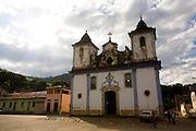Mariana_MG, Brasil...Igreja Matriz Bom Jesus do Monte em Mariana...Mother church Bom Jesus do Monte in Mariana...Foto: LEO DRUMOND / NITRO.
