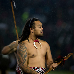 Pregame Maori dancers during game 5 of the British and Irish Lions 2017 Tour of New Zealand,The match between  The Maori All Blacks and British and Irish Lions, Rotorua International Stadium, Rotorua, Saturday 17th June 2017<br /> (Photo by Kevin Booth Steve Haag Sports)<br /> <br /> Images for social media must have consent from Steve Haag