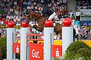 Rene Tebbel - Cooper 75<br /> FEI European Championships Aachen 2015<br /> © DigiShots