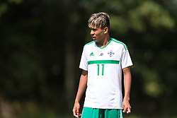 WREXHAM, WALES - Thursday, August 15, 2019: Northern Ireland's Kenny Ximines during the UEFA Under-15's Development Tournament match between Wales and Northern Ireland at Colliers Park. (Pic by Paul Greenwood/Propaganda)