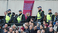 Football - 2016 / 2017 Premier League - West Ham United vs. Stoke City<br /> <br /> Police officer patrol in the London stadium for the first time at The London Stadium.<br /> <br /> COLORSPORT/DANIEL BEARHAM
