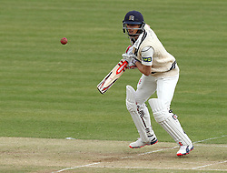 Middlesex's Josh Simpson brings up his fifty - Photo mandatory by-line: Robbie Stephenson/JMP - Mobile: 07966 386802 - 03/05/2015 - SPORT - Football - London - Lords  - Middlesex CCC v Durham CCC - County Championship Division One