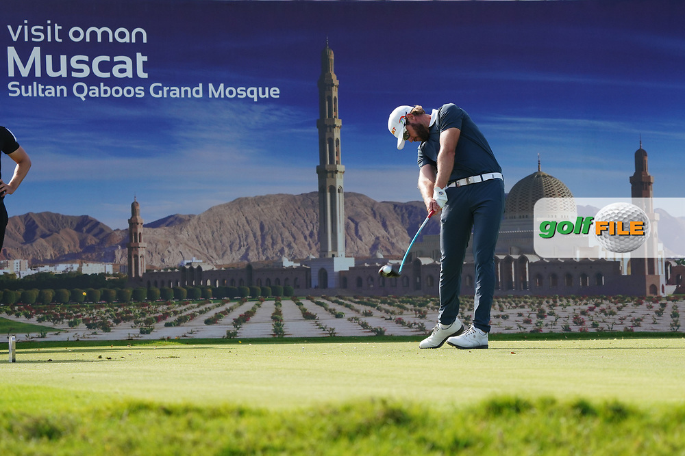 Kalle Samooja (FIN) on the 17th during Round 4 of the Oman Open 2020 at the Al Mouj Golf Club, Muscat, Oman . 01/03/2020<br /> Picture: Golffile | Thos Caffrey<br /> <br /> <br /> All photo usage must carry mandatory copyright credit (© Golffile | Thos Caffrey)