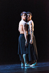 Scottish Ballet perform two works (MC14/22 and Emergence) in the Edinburgh International Festival