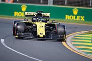 ALBERT PARK, VIC - MARCH 15: Renault F1 Team driver Daniel Ricciardo (3) at The Australian Formula One Grand Prix on March 15, 2019, at The Melbourne Grand Prix Circuit in Albert Park, Australia. (Photo by Speed Media/Icon Sportswire)