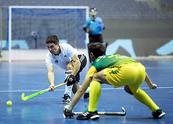 BERLIN - Indoor Hockey World Cup<br /> Men: Russia - South Africa<br /> foto: <br /> COPYRIGHT WILLEM VERNES