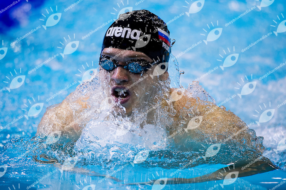 Andrey Nikolaev Russia RUS<br /> 100 Breaststroke Men Heat<br /> 32nd LEN European Championships <br /> Berlin, Germany 2014  Aug.13 th - Aug. 24 th<br /> Day06 - Aug. 18<br /> Photo A.Masini/Deepbluemedia/Inside