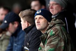 Bristol Rovers fan at AFC Wimbledon - Mandatory byline: Robbie Stephenson/JMP - 07966 386802 - 26/12/2015 - FOOTBALL - Kingsmeadow Stadium - Wimbledon, England - AFC Wimbledon v Bristol Rovers - Sky Bet League Two