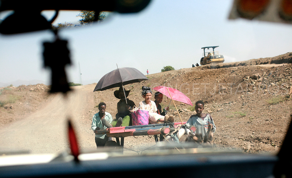 On the road, Ethiopia 2010