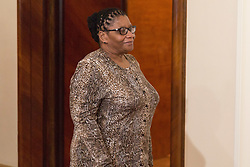 September 23, 2016 - Warsaw, Poland - Chairperson of the National Council of Provinces of South Africa, Thandi Modise in Warsaw, Poland on 23 September 2016  (Credit Image: © Mateusz Wlodarczyk/NurPhoto via ZUMA Press)