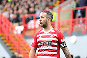 Hamilton Academical midfielder Dougie Imrie (7)  during the Ladbrokes Scottish Premiership match between Hamilton Academical FC and Celtic at New Douglas Park, Hamilton, Scotland on 24 November 2018. Pic Mick Atkins